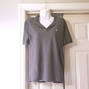 FAIRLY NEW KIDS/BOYS RALPH LAUR POLO SHIRT 14/16